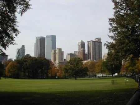 Central Park, NYC, Autumn, 2005