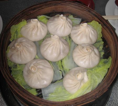 the xiao long bao (soup dumplings: on the menu as Steamed tiny buns with pork) are excellent
