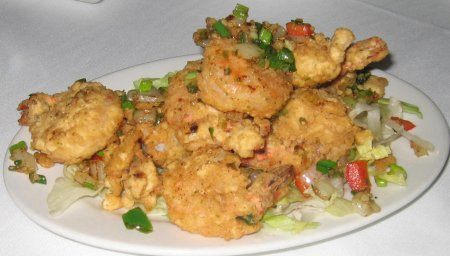 Tangra Restaurant : salt shrimp